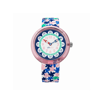 Montre Flik Flak fille A trip to London flower