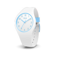 Montre Ice Watch femme enfant silicone blanc