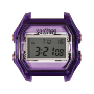 Boîte de montre IAM medium polycarbonate violet