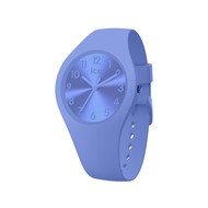 Montre Ice Watch femme small silicone bleu