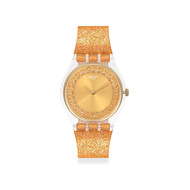 Montre Swatch femme plastique transparent