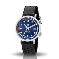 Montre Lip homme Nautic Ski bleue saphir