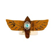 Bague large aigle CHICA